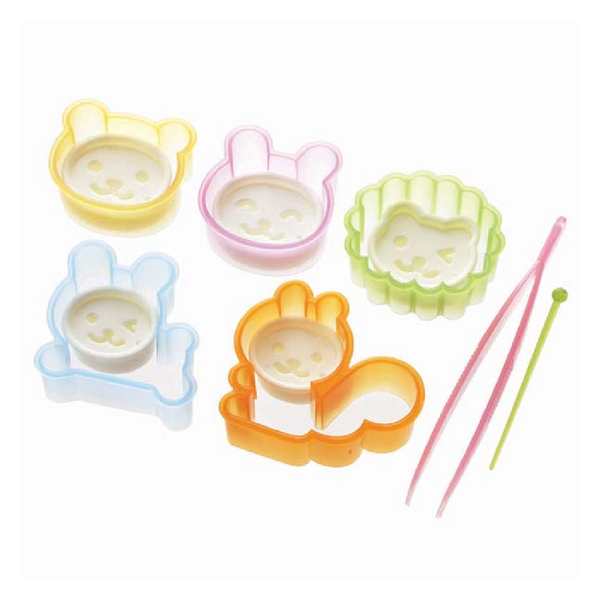 Animal & Faces Bento Cutter Set