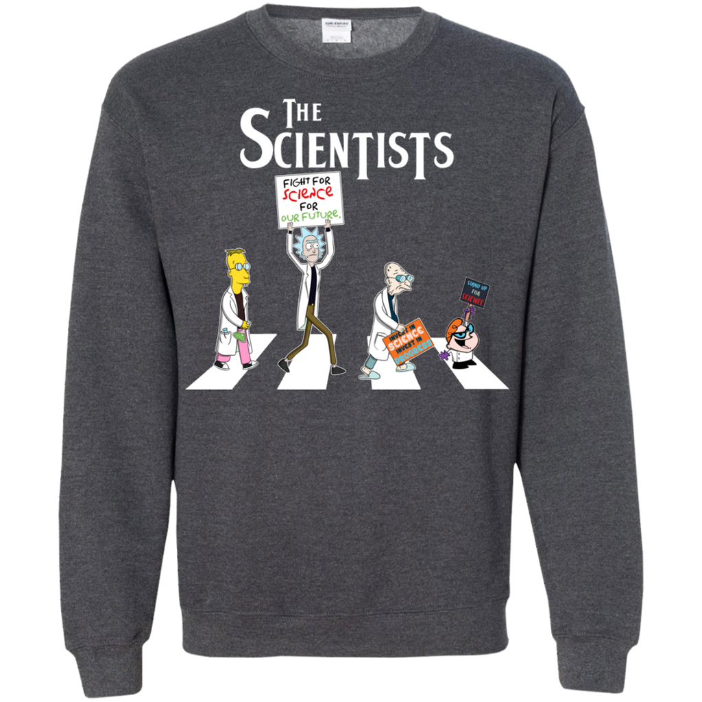 The Scientists G180 Crewneck Pullover Sweatshirt  8 oz.