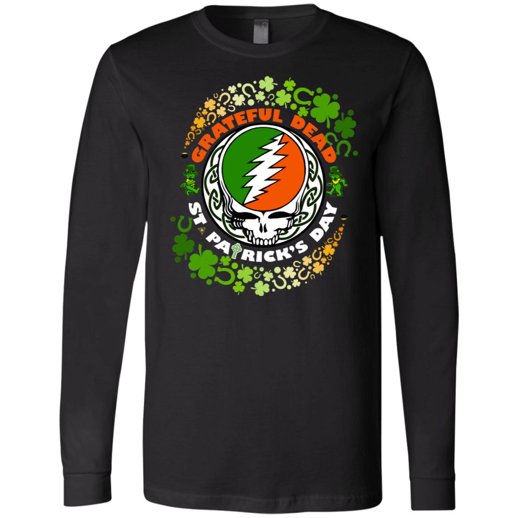 Grateful Dead - St Patrick's Day 3501 Men's Jersey LS T-Shirt