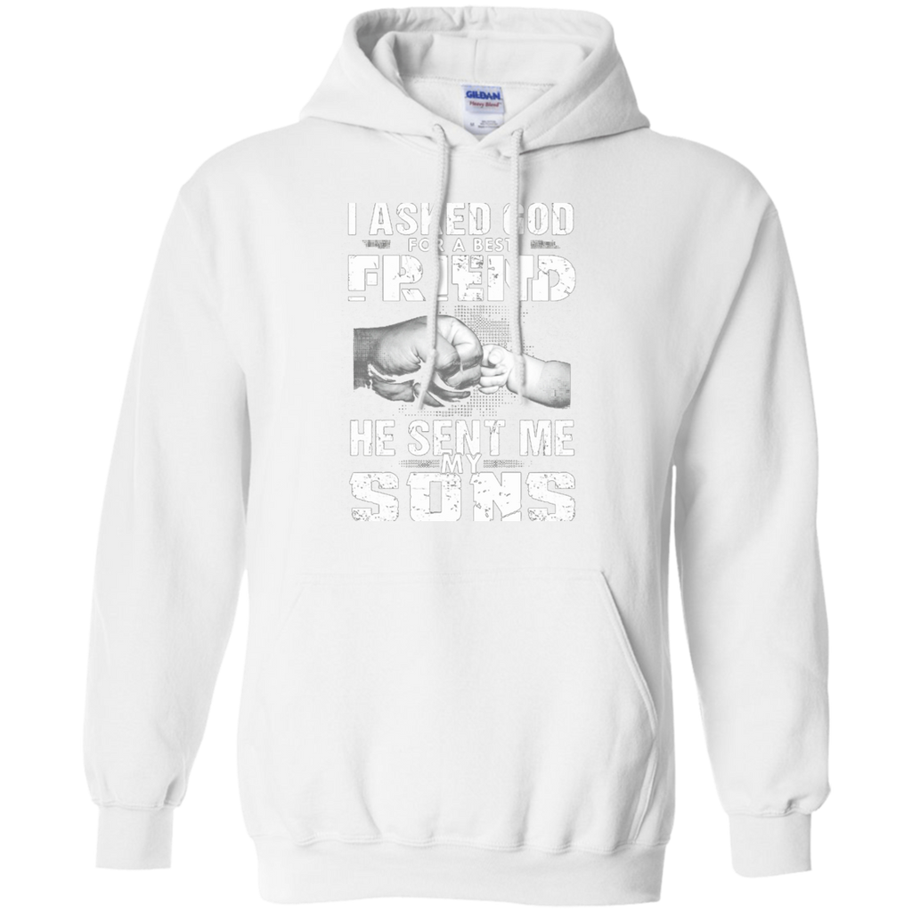 Asked God For A Best Friend He Sent Me My Sons AT0131 G185 Pullover Hoodie 8 oz. - OwlCube - Diamond Painting by Numbers