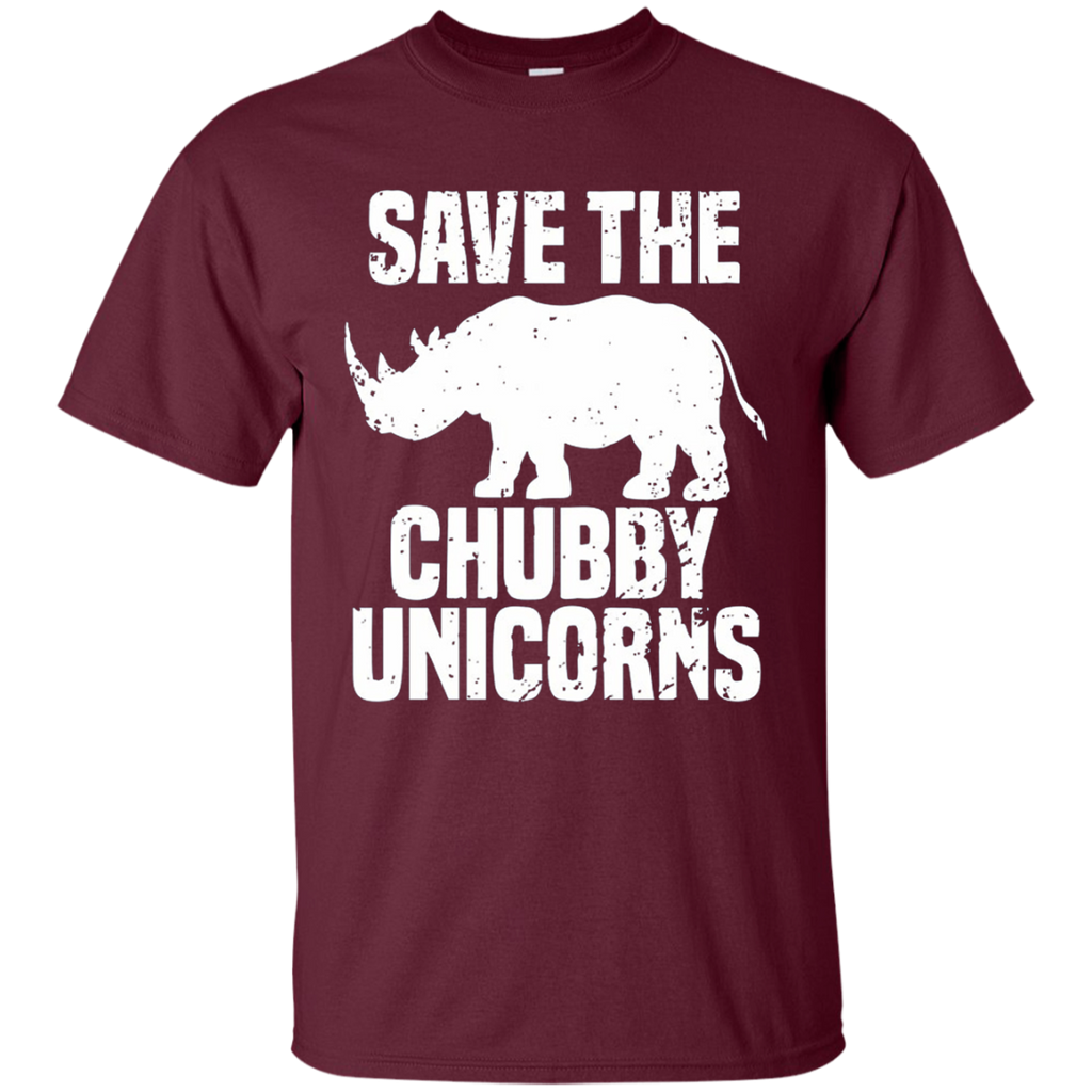 AT0032 Save The Chubby Unicorn G200 Cotton T-Shirt - OwlCube - Diamond Painting by Numbers
