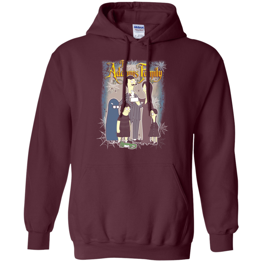Bob s burgers - Addams Family G185 Pullover Hoodie 8 oz. - OwlCube - Diamond Painting by Numbers
