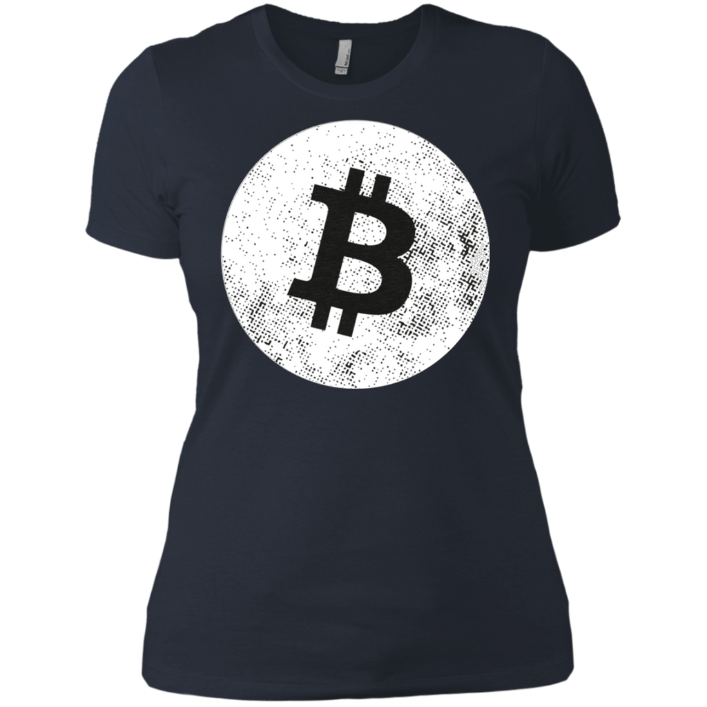 Bitcoin AT0056 NL3900 Ladies' Boyfriend T-Shirt - OwlCube - Diamond Painting by Numbers