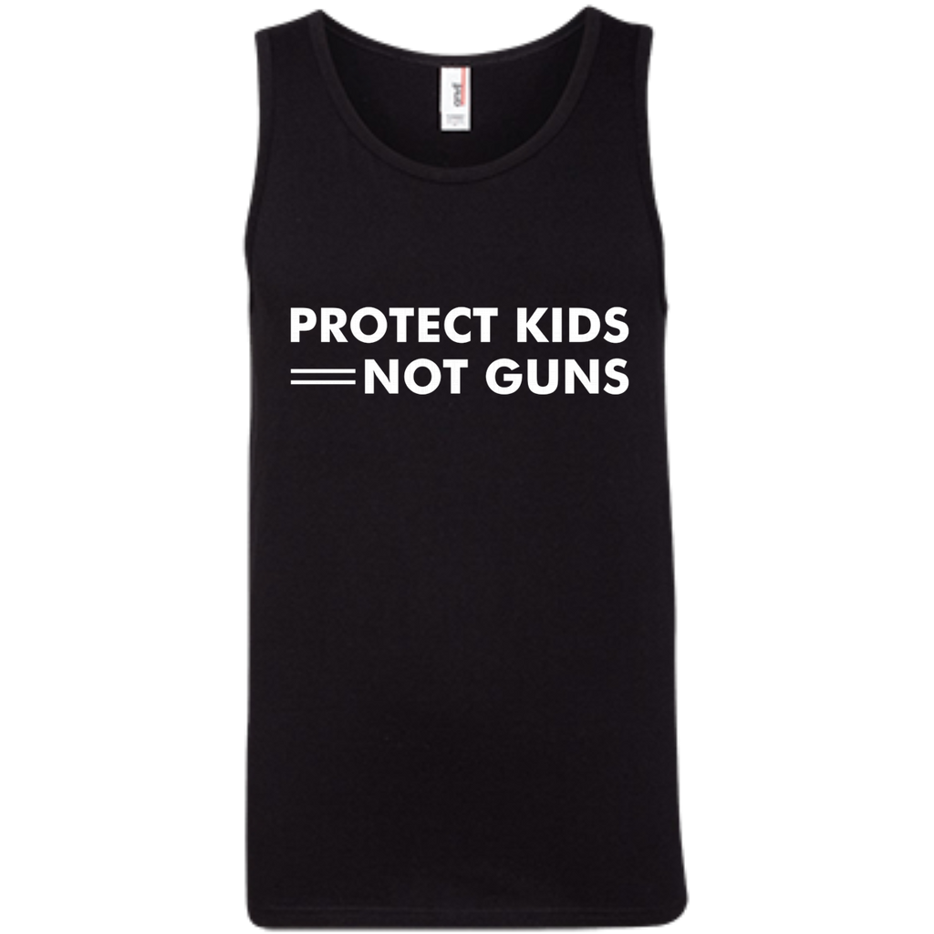 Protect Kids Not Guns AT0092 100% Ringspun Cotton Tank Top