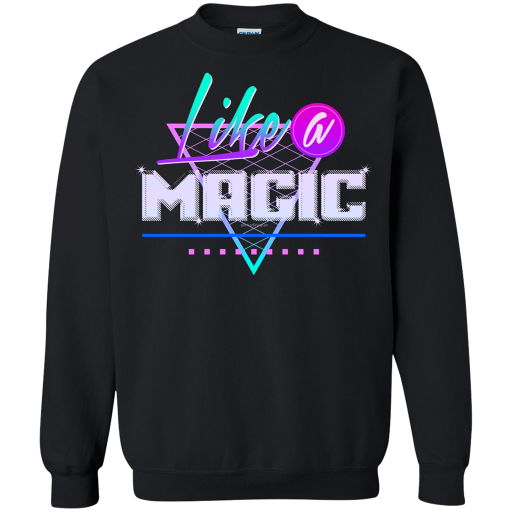 Like a Magic AT0082 G180 Crewneck Pullover Sweatshirt  8 oz.