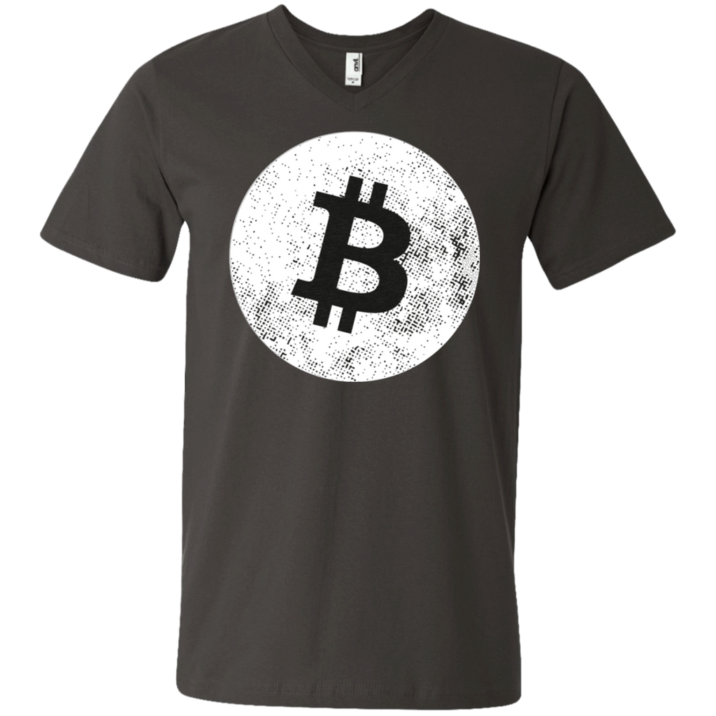 Bitcoin AT0056 982 Men's Printed V-Neck T-Shirt - OwlCube - Diamond Painting by Numbers