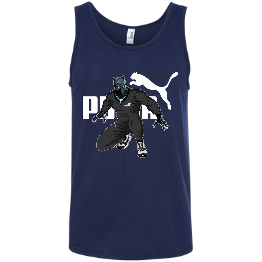 Black Panther Puma 100% Ringspun Cotton Tank Top - OwlCube - Diamond Painting by Numbers