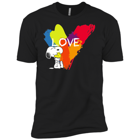 Snoopy Love NL3600 Premium Short Sleeve T-Shirt