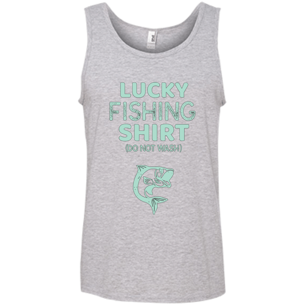 Lucky Fishing Shirt Do Not Wash AT0086 100% Ringspun Cotton Tank Top