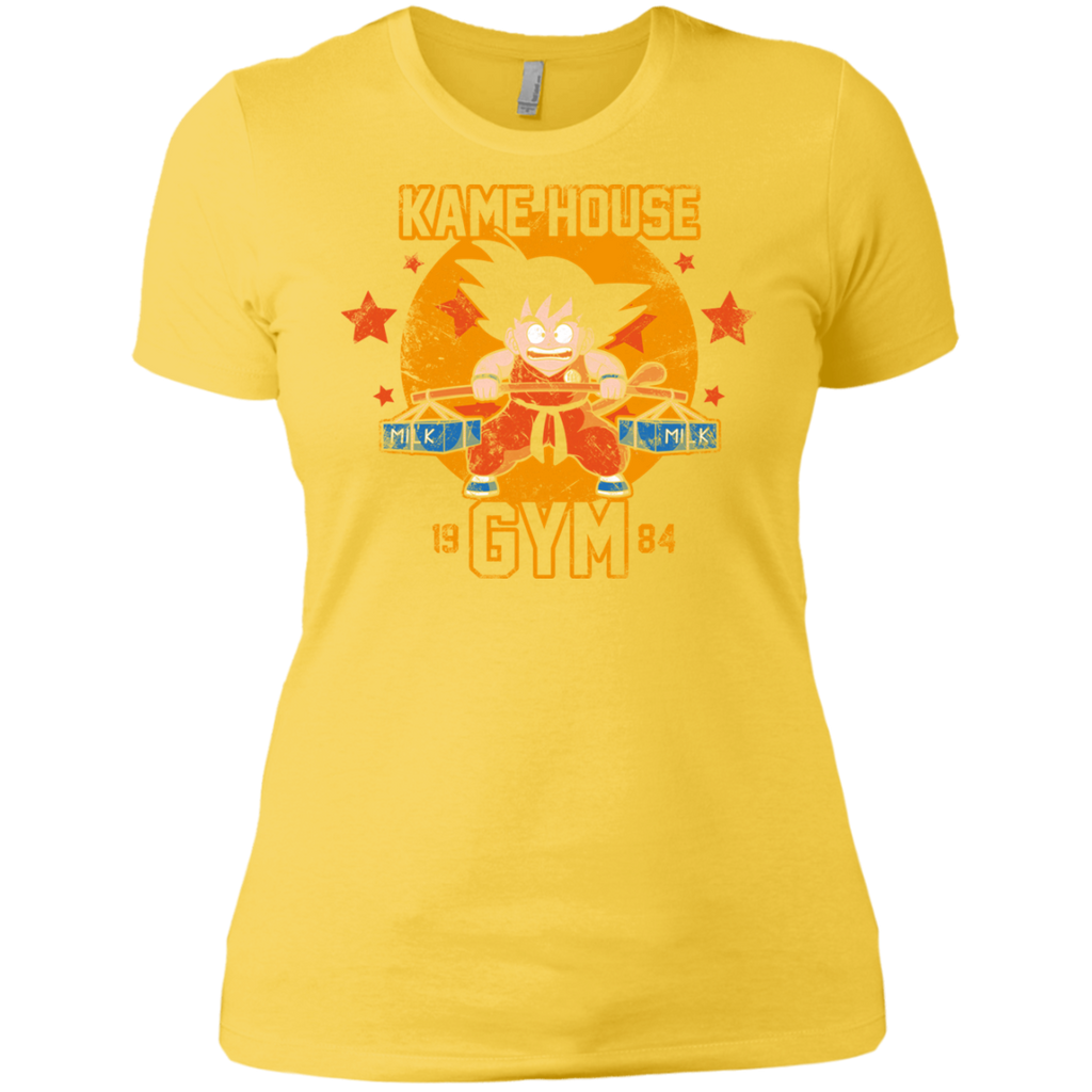 Kamehouse Gym 2 NL3900 Ladies' Boyfriend T-Shirt