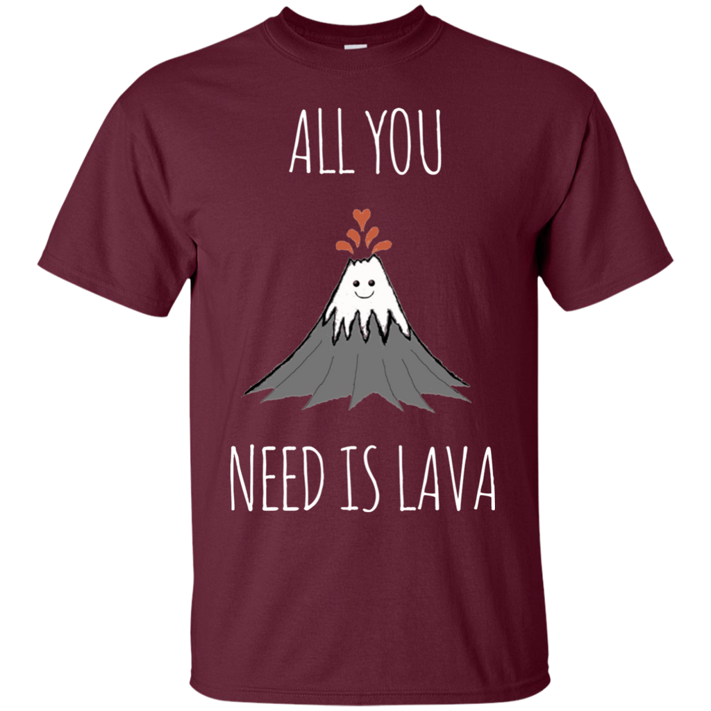 All You Need Is Lava! AT0052 G200 Cotton T-Shirt - OwlCube - Diamond Painting by Numbers