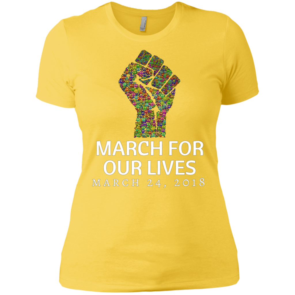 March for our Lives AT0046 NL3900 Ladies' Boyfriend T-Shirt