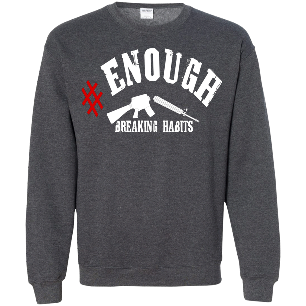 Enough Anti Gun National Walkout Protest AT0105 G180 Crewneck Pullover Sweatshirt  8 oz. - OwlCube - Diamond Painting by Numbers