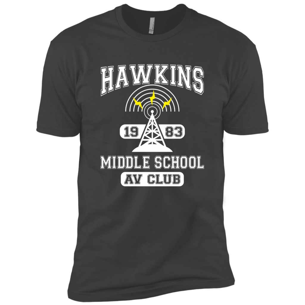 Stranger Things - Hawkins Middle School A.V. Club AT0102 NL3600 Premium Short Sleeve T-Shirt