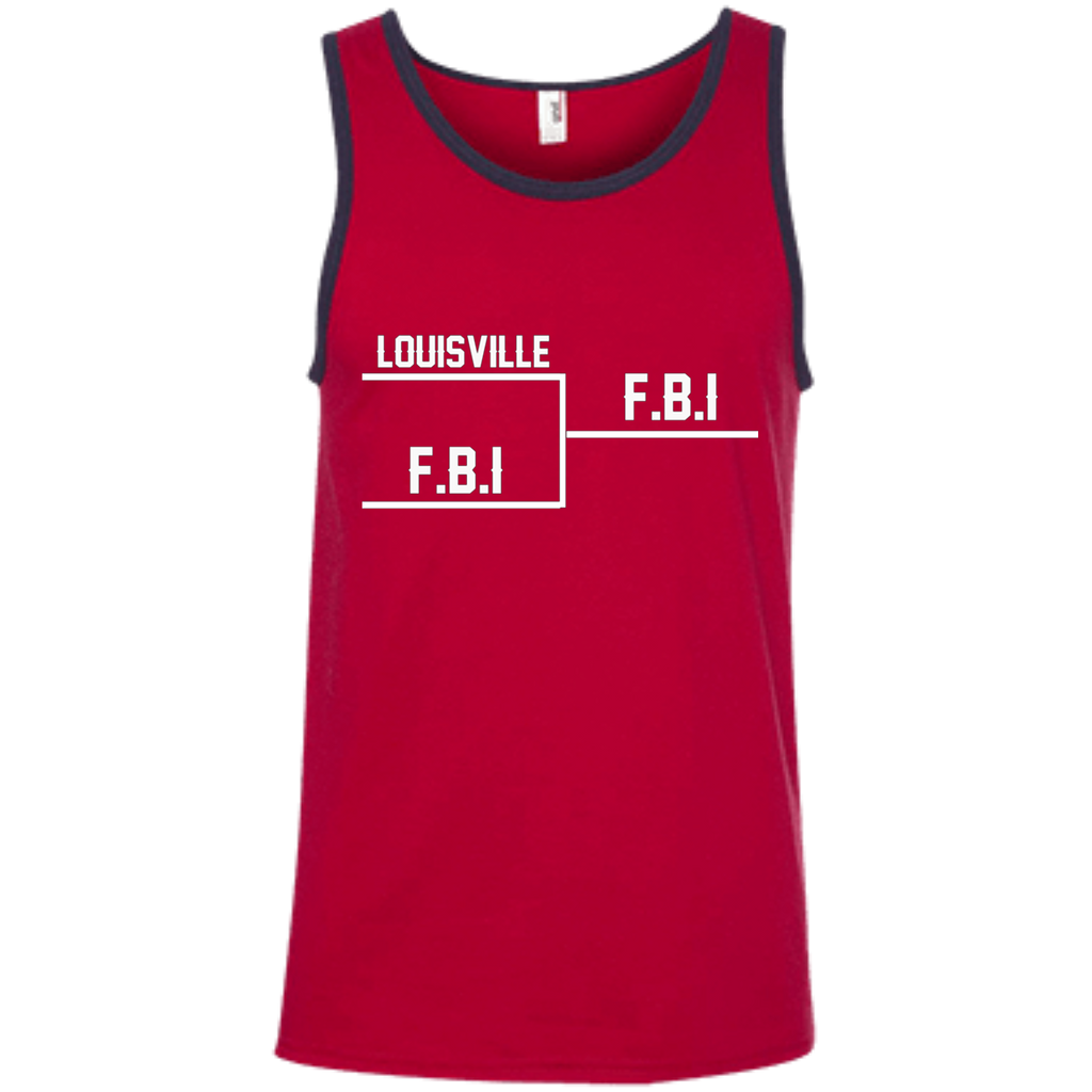 Louisville FBI AT0084 100% Ringspun Cotton Tank Top