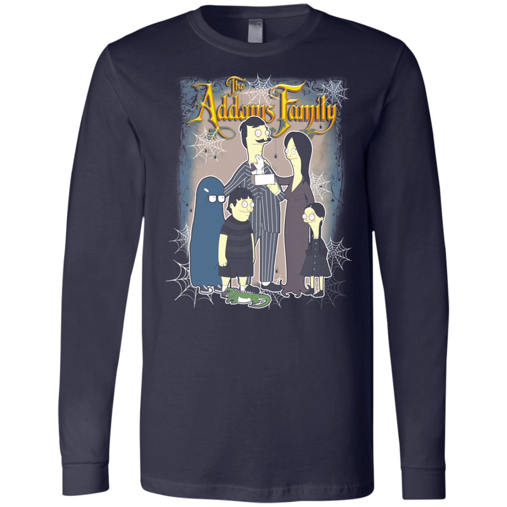 Bob s burgers - Addams Family 3501 Men's Jersey LS T-Shirt - OwlCube - Diamond Painting by Numbers