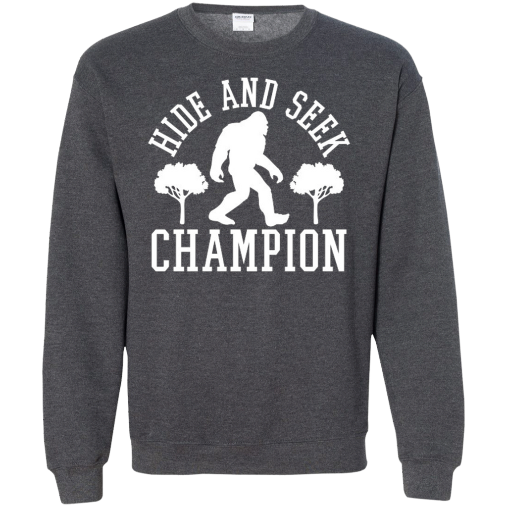 AT0014 Hide And Seek Champion G180 Crewneck Pullover Sweatshirt  8 oz. - OwlCube - Diamond Painting by Numbers