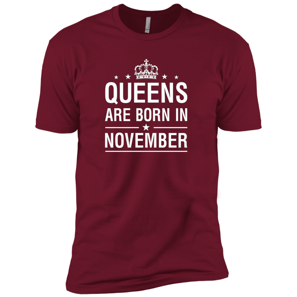 Queens Are Born In November AT0094 NL3600 Premium Short Sleeve T-Shirt