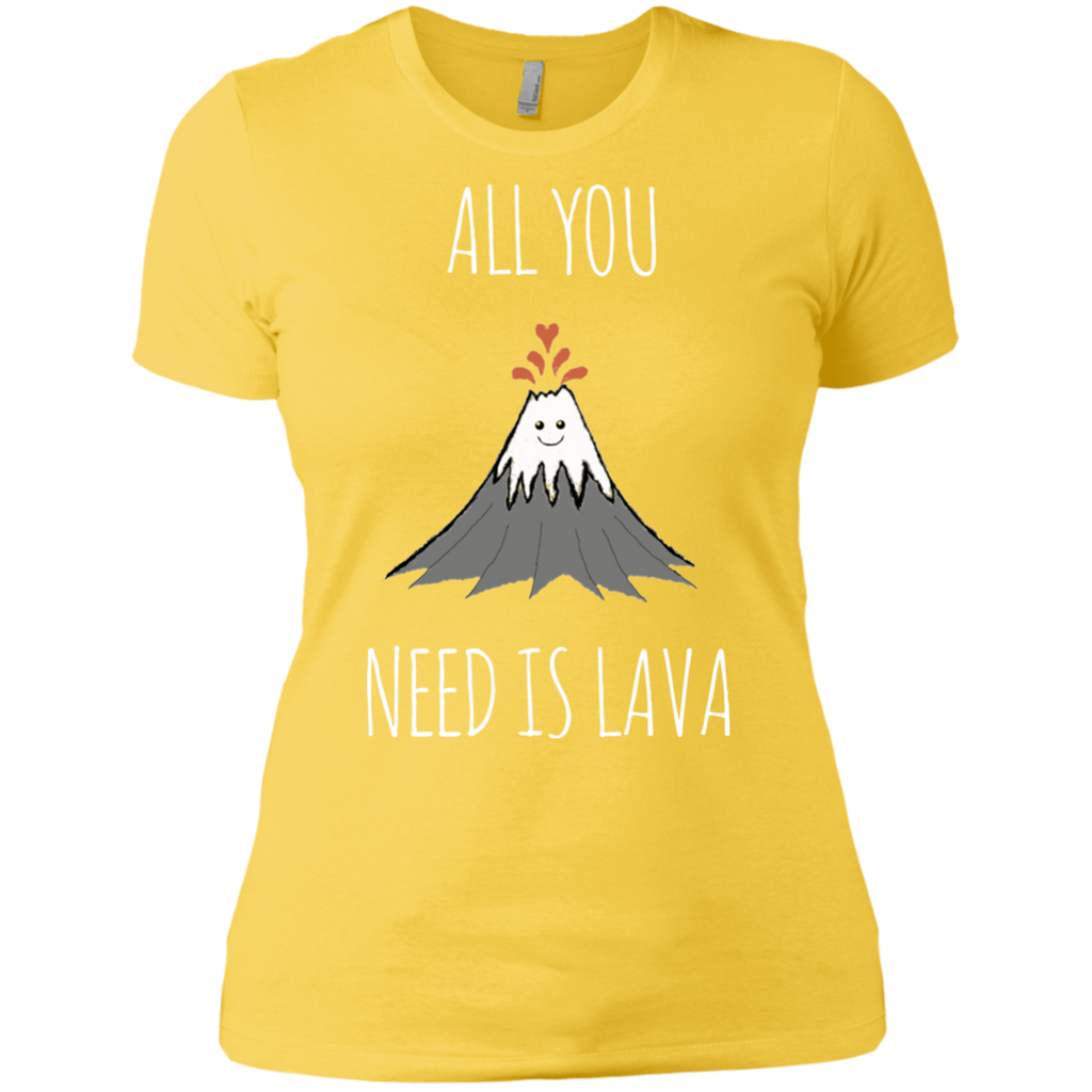 All You Need Is Lava! AT0052 NL3900 Ladies' Boyfriend T-Shirt - OwlCube - Diamond Painting by Numbers