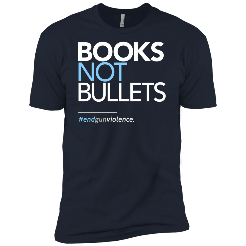 Books Not Bullets, March for Our Lives AT0112 NL3600 Premium Short Sleeve T-Shirt - OwlCube - Diamond Painting by Numbers