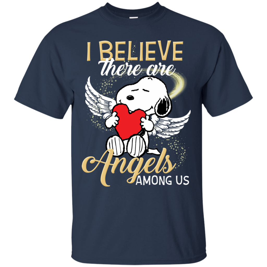 Snoopy Angels G200 Cotton T-Shirt