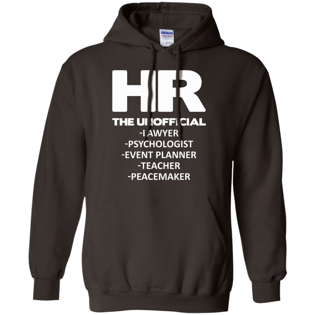 HR THE UNOFFICIAL LAWYER TEACHER AT0066 G185 Pullover Hoodie 8 oz. - OwlCube - Canvas Wall Art