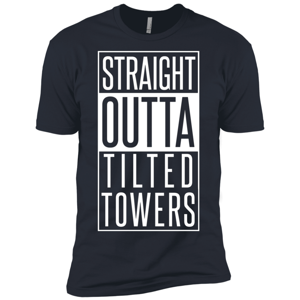 Straight outta tilted towers AT0100 NL3600 Premium Short Sleeve T-Shirt