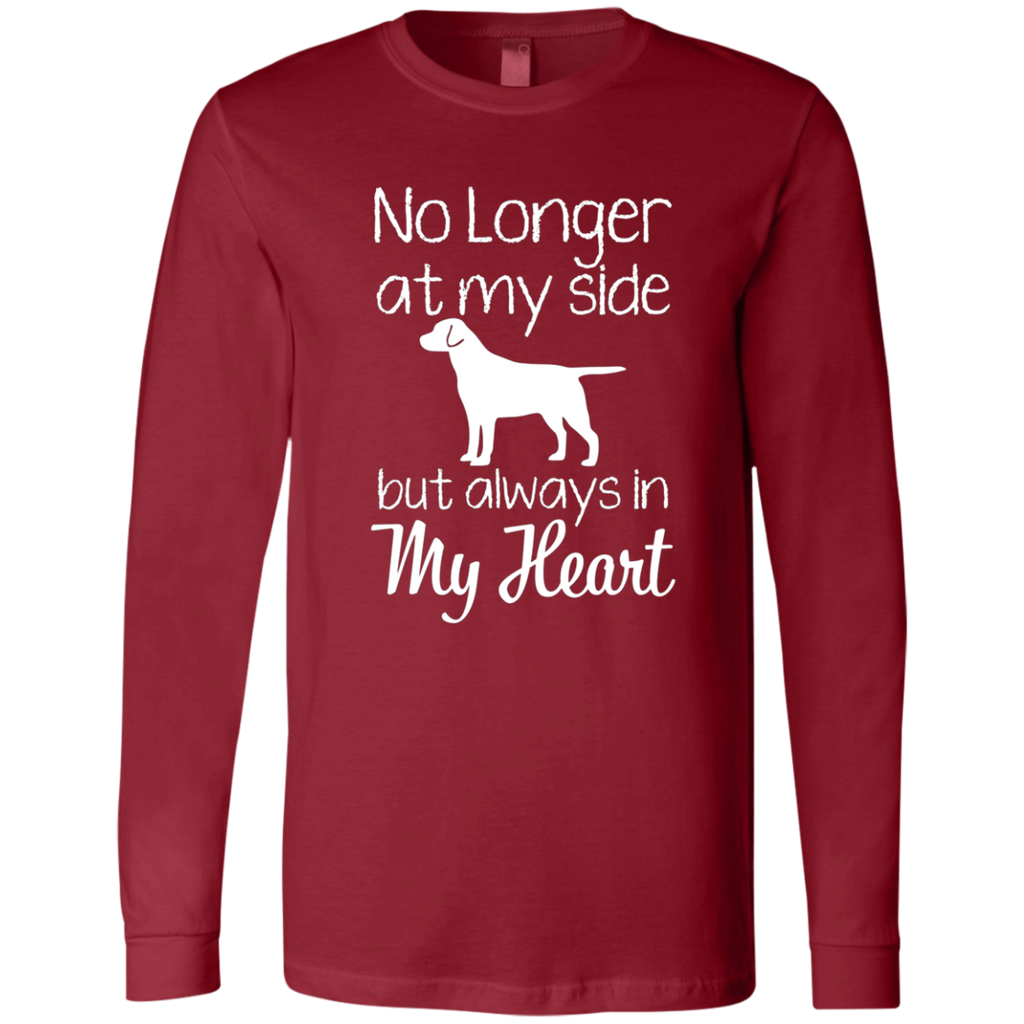 No Longer At My Side but always in my heart AT0073 3501 Men's Jersey LS T-Shirt