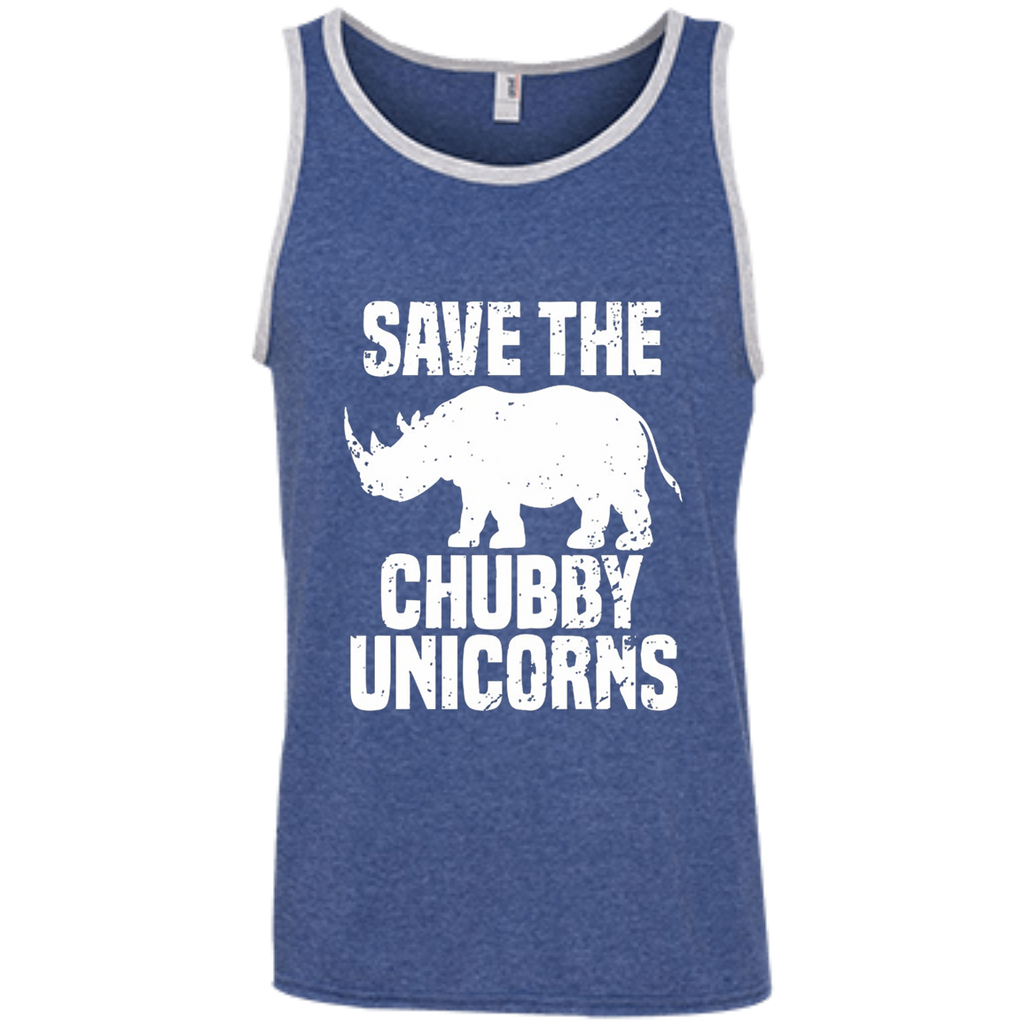 AT0032 Save The Chubby Unicorn 100% Ringspun Cotton Tank Top - OwlCube - Diamond Painting by Numbers