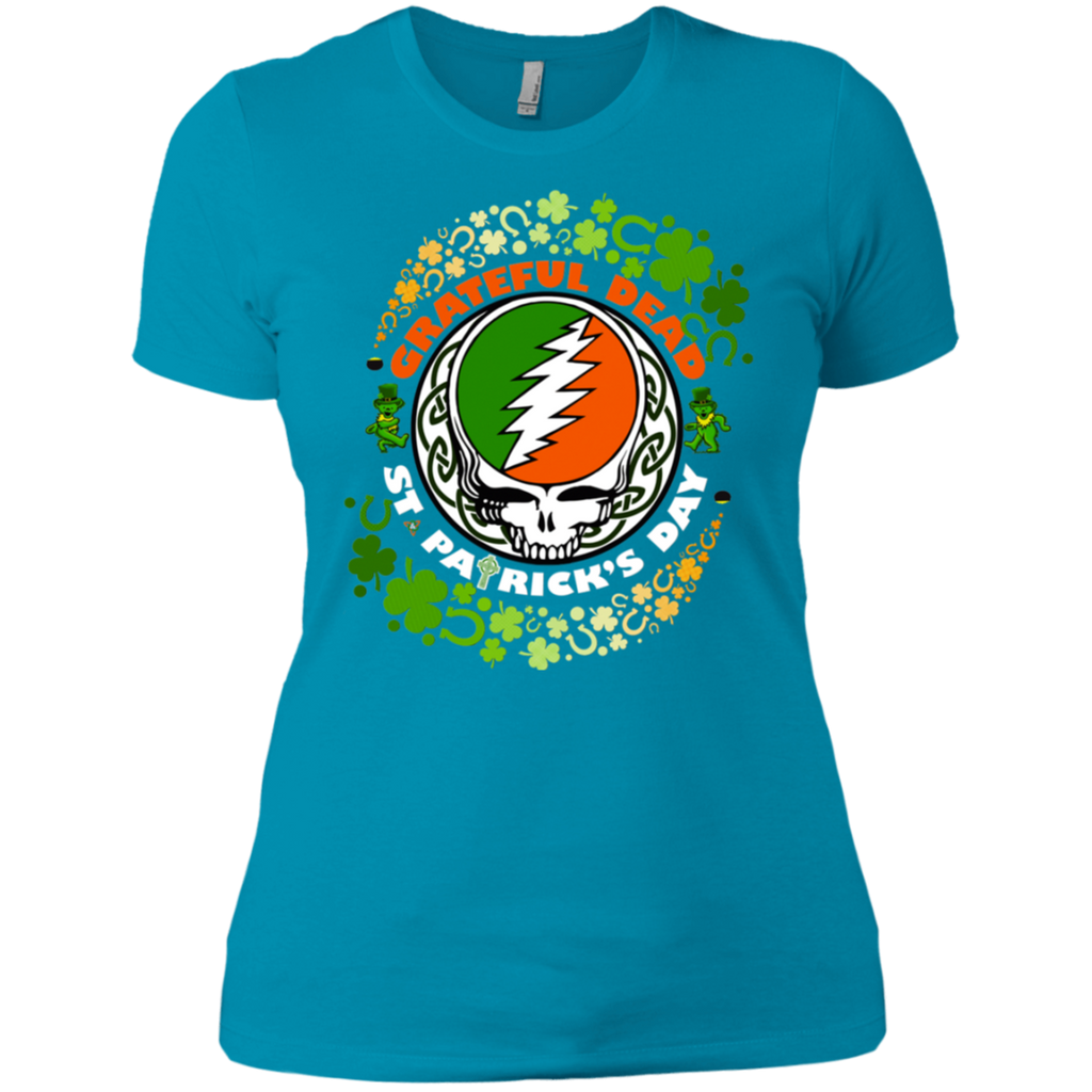 Grateful Dead - St Patrick's Day NL3900 Ladies' Boyfriend T-Shirt