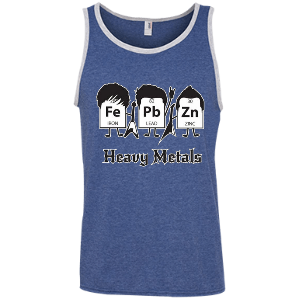 AT0012 Heavy Metals Periodic Table 100% Ringspun Cotton Tank Top - OwlCube - Diamond Painting by Numbers