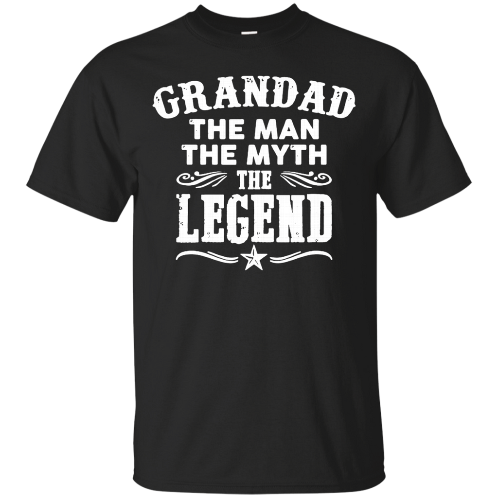 Grandad The Man The Myth The Legend AT0062 G200 Cotton T-Shirt - OwlCube - Canvas Wall Art