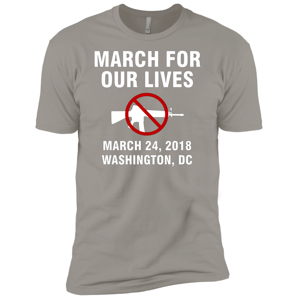 March For Our Lives Washington DC March 24 2018 End Gun Violence AT0088 NL3600 Premium Short Sleeve T-Shirt