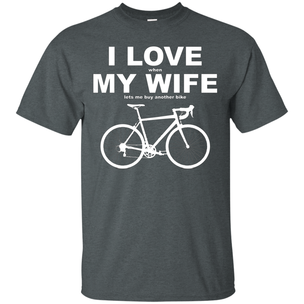 I LOVE MY WIFE AT0070 G200 Cotton T-Shirt