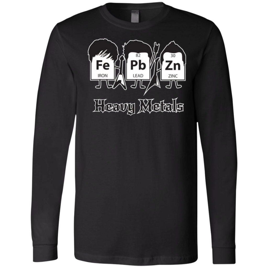 AT0012 Heavy Metals Periodic Table 3501 Men's Jersey LS T-Shirt - OwlCube - Diamond Painting by Numbers