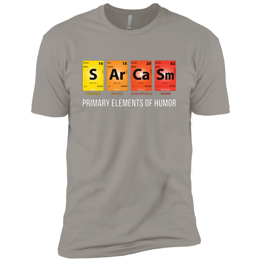 Sarcasm Mendeleev Humor Periodic Elements AT0096 NL3600 Premium Short Sleeve T-Shirt