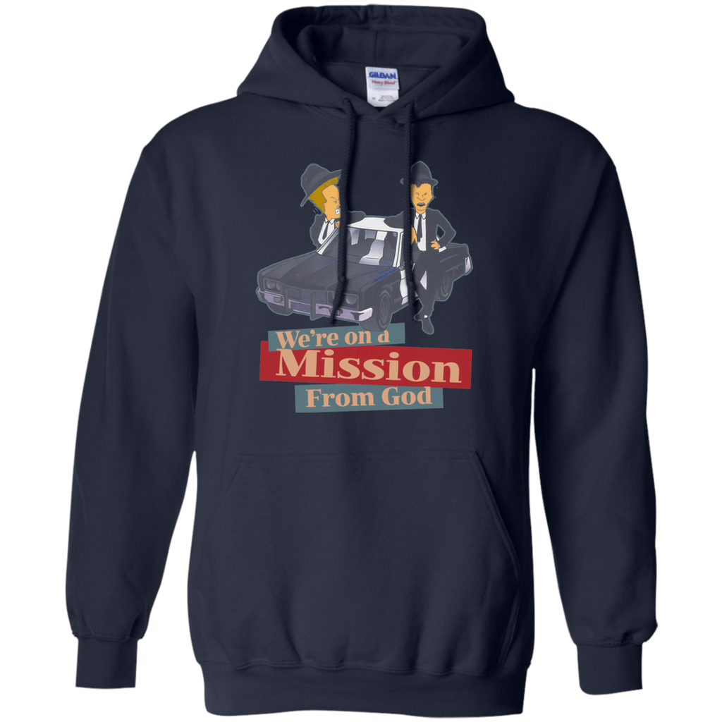 The Blues Brothers - BEAVIS AND BUTTHEAD G185 Pullover Hoodie 8 oz.