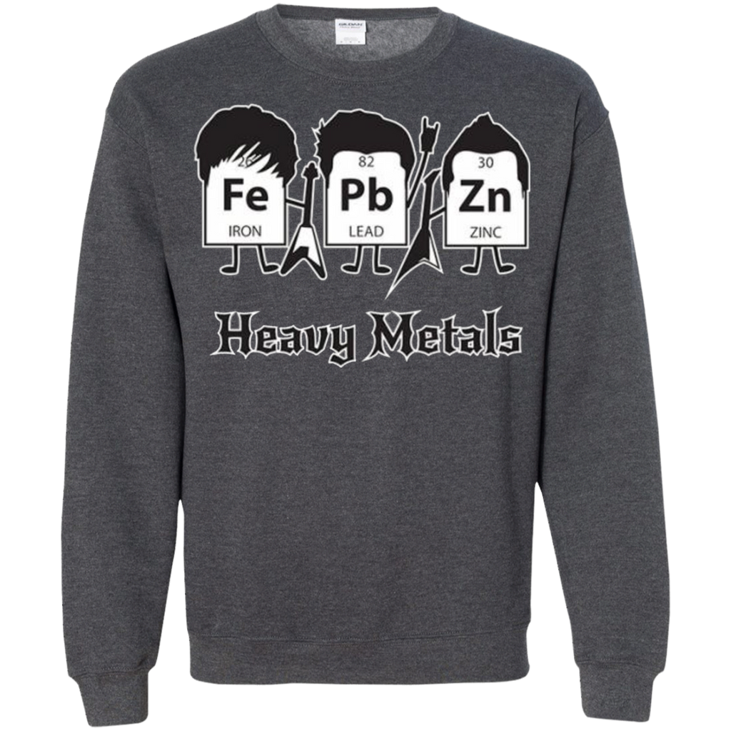 AT0012 Heavy Metals Periodic Table G180 Crewneck Pullover Sweatshirt  8 oz. - OwlCube - Diamond Painting by Numbers
