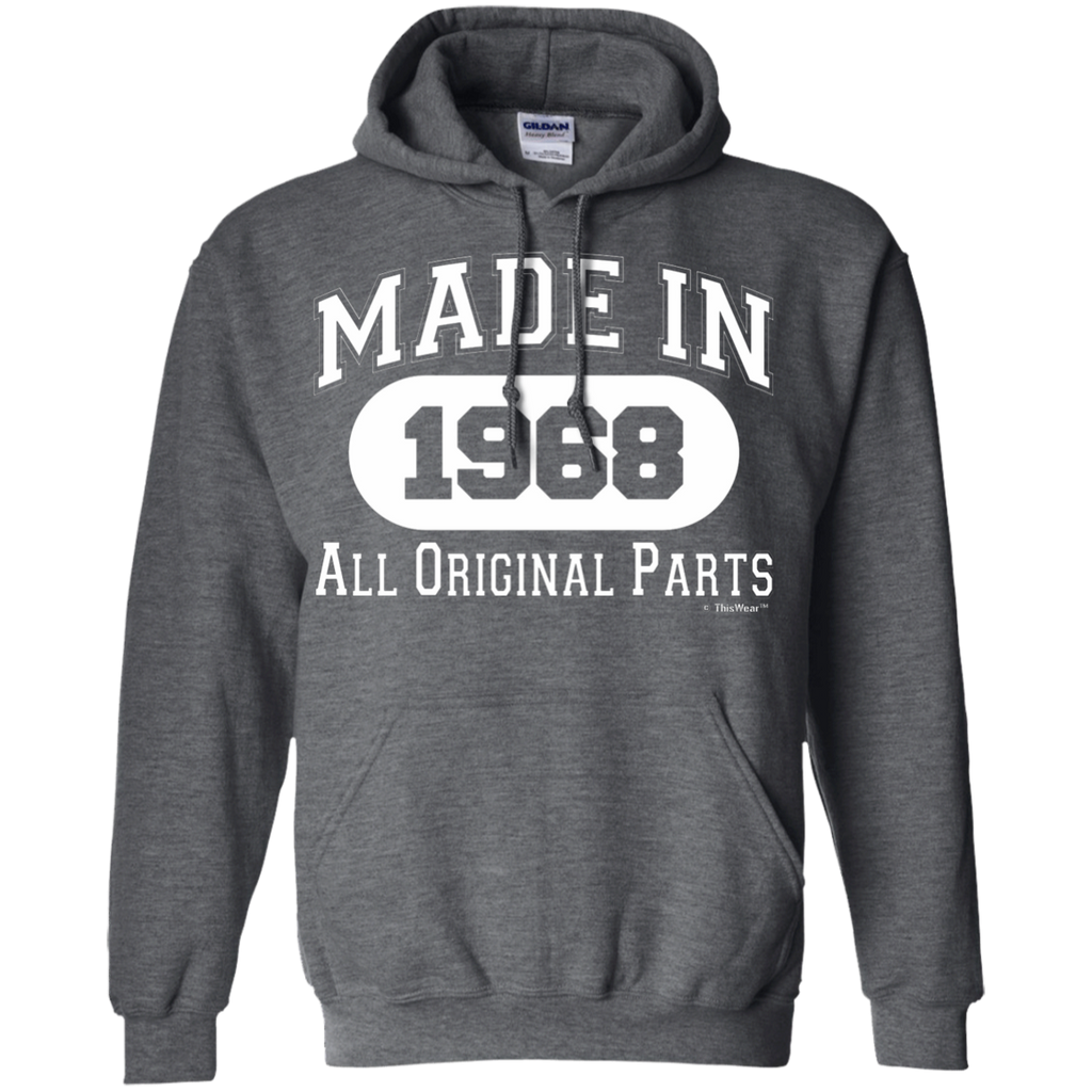50th Birthday Gifts Made 1968 All Original Parts AT0054 G185 Pullover Hoodie 8 oz. - OwlCube - Diamond Painting by Numbers