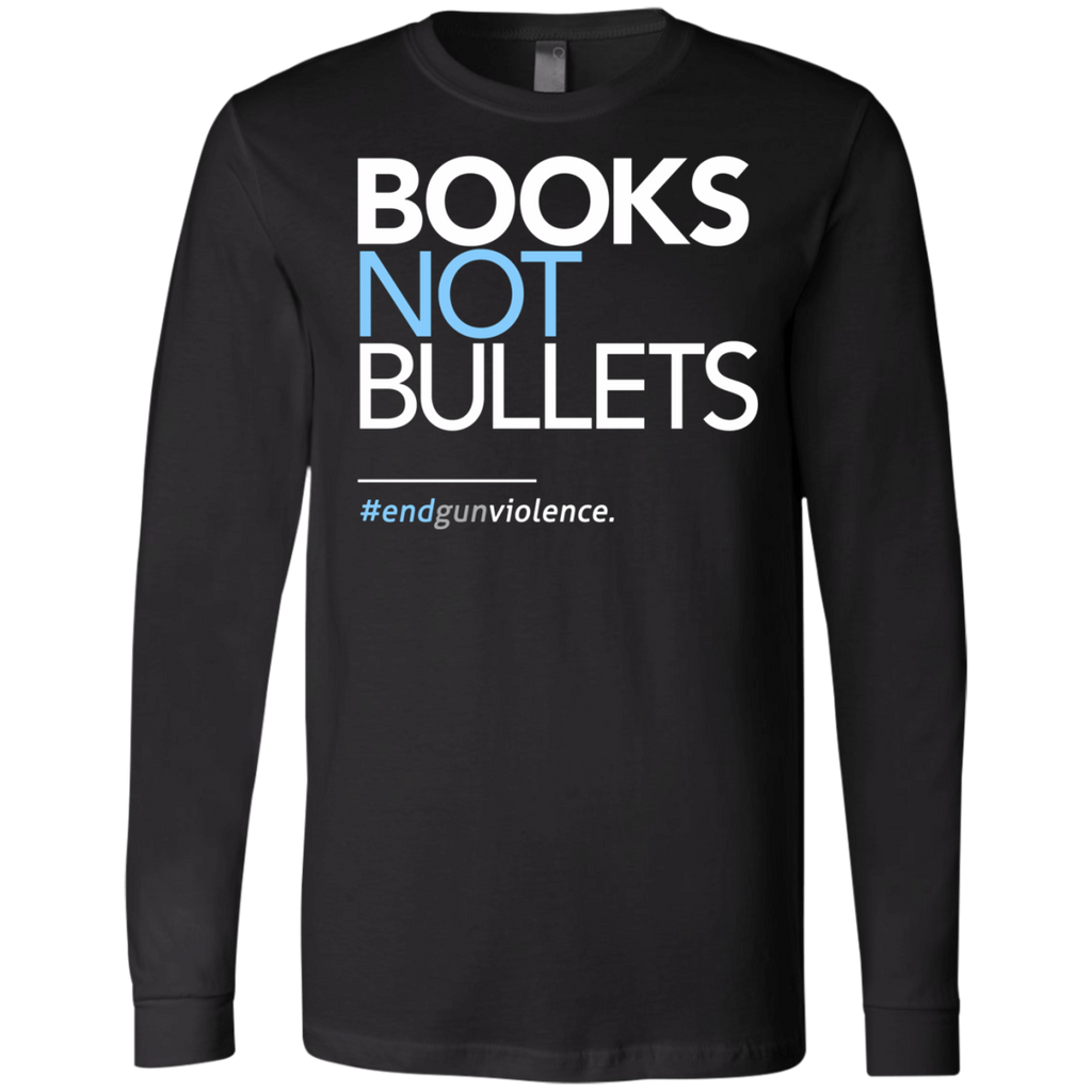 Books Not Bullets, March for Our Lives AT0112 3501 Men's Jersey LS T-Shirt - OwlCube - Diamond Painting by Numbers