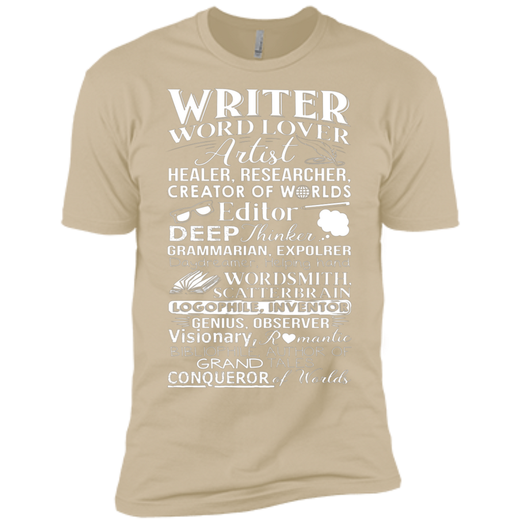 Writer Title Definition Meaning Author English Teacher AT0095 NL3600 Premium Short Sleeve T-Shirt