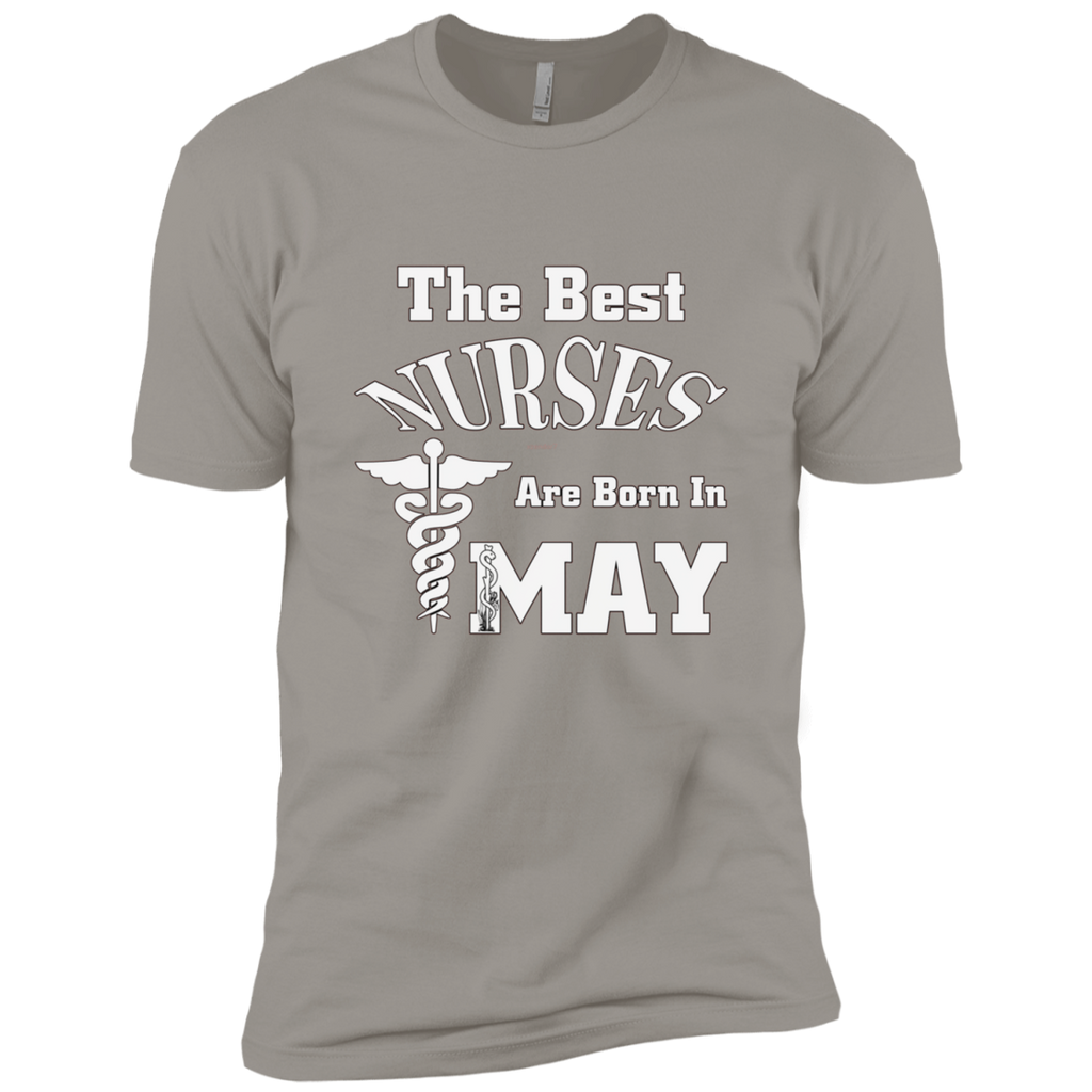 The Best Nurses Are Born In MAY AT0123 NL3600 Premium Short Sleeve T-Shirt