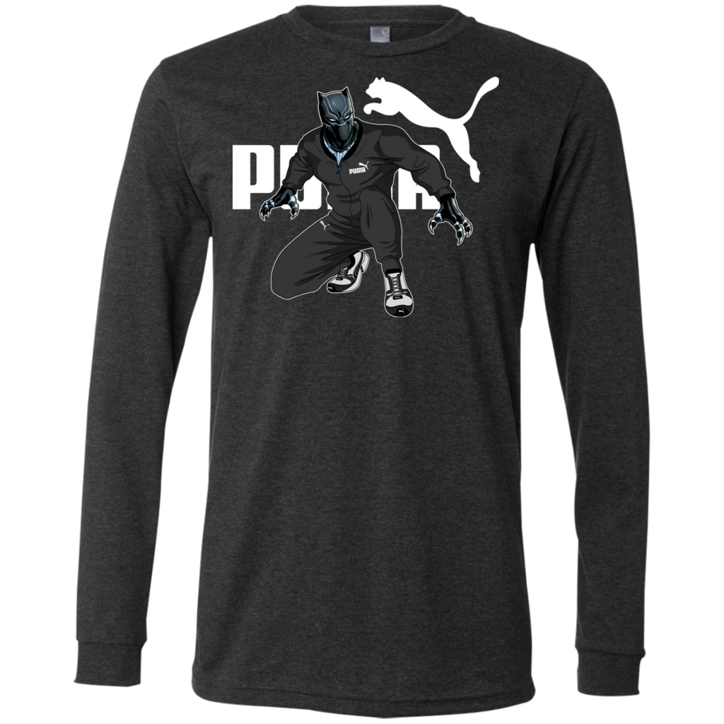 Black Panther Puma 3501 Men's Jersey LS T-Shirt - OwlCube - Diamond Painting by Numbers