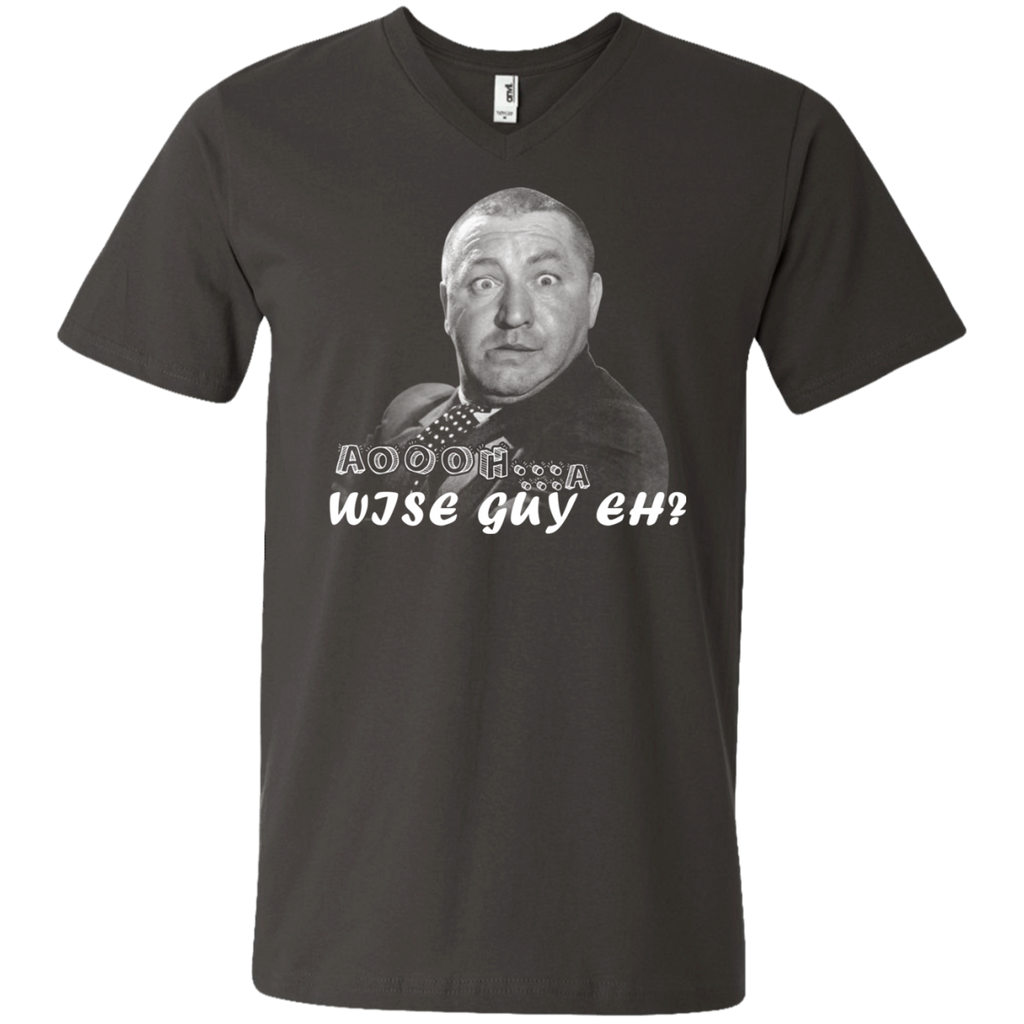 The Three Stooges 982 Men's Printed V-Neck T-Shirt