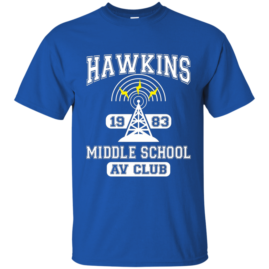 Stranger Things - Hawkins Middle School A.V. Club AT0102 G200 Cotton T-Shirt
