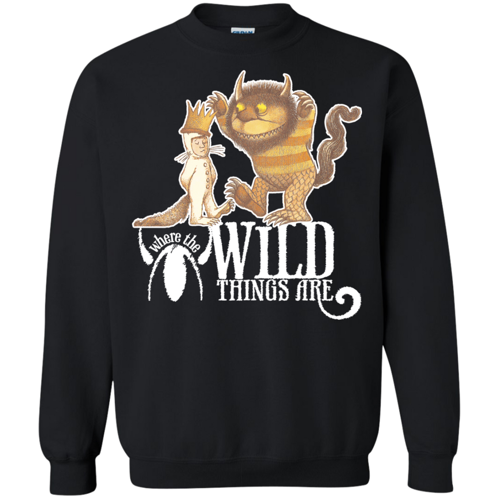Where The Wild Things Are 1 G180 Crewneck Pullover Sweatshirt  8 oz.