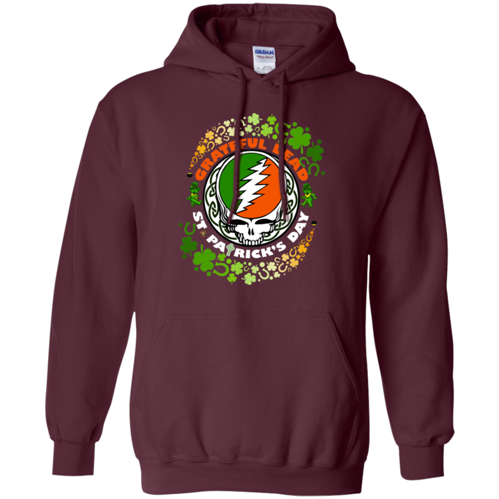 Grateful Dead - St Patrick's Day G185 Pullover Hoodie 8 oz.