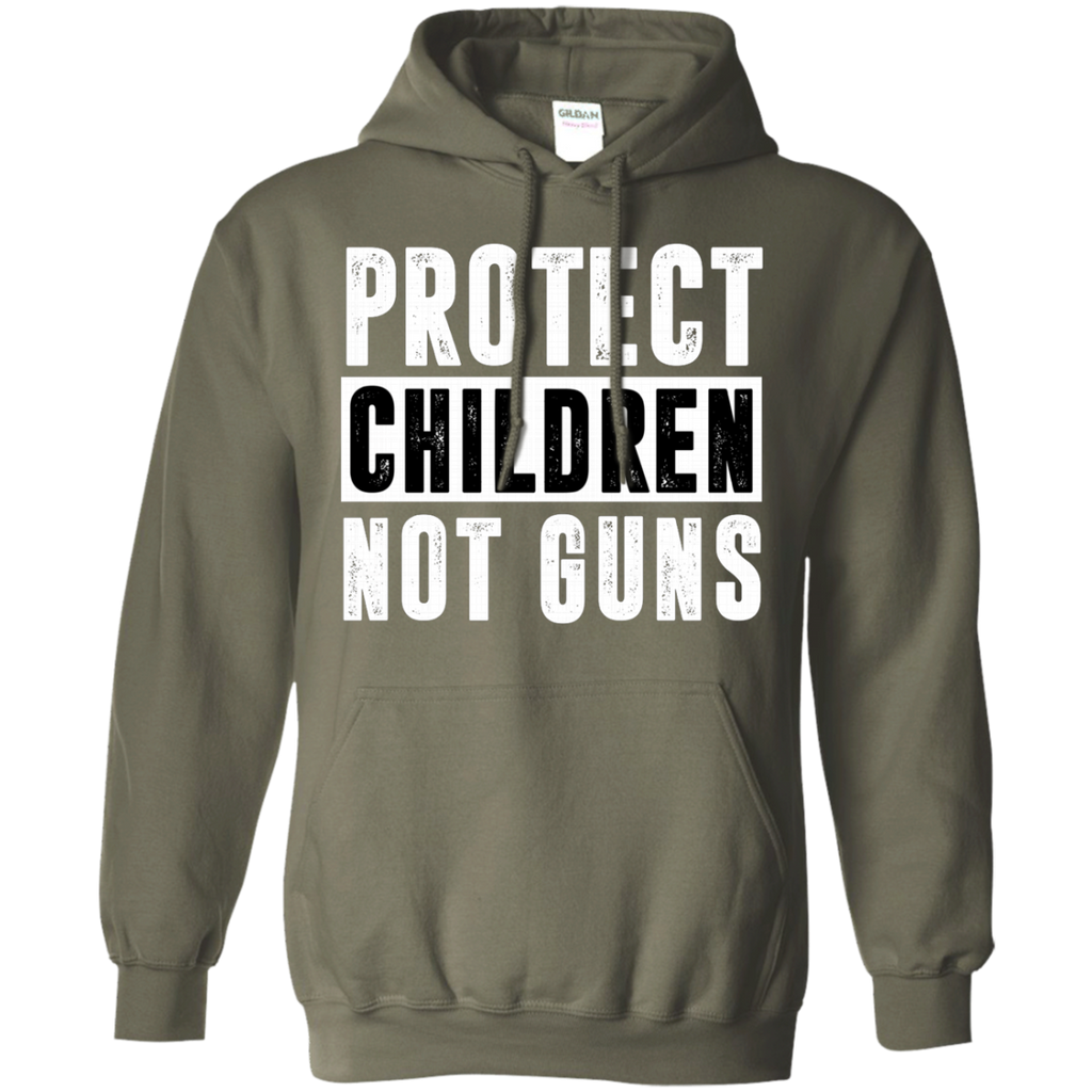 Protect Children Not Guns Gun Control Anti Gun AT0107 G185 Pullover Hoodie 8 oz.