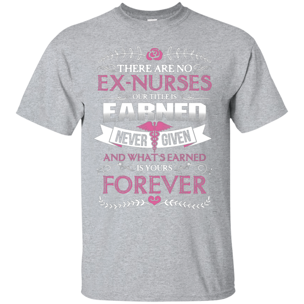 Nurse Forever AT0122 G200 Ultra Cotton T-Shirt