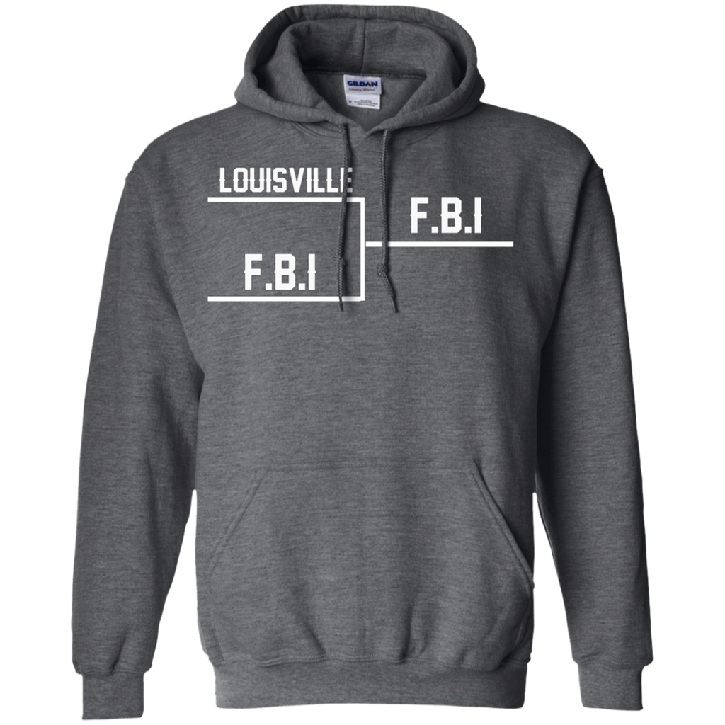 Louisville FBI AT0084 G185 Pullover Hoodie 8 oz.